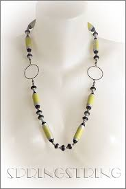 173 best paper bead necklace images on pinterest beaded necklace