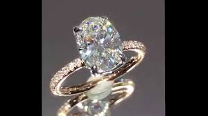 oval engagement rings gold beautiful oval engagement ring 1 80 ct in white and