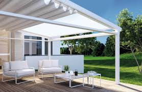 Coupe Vent Terrasse Retractable by Pergolas Et Voiles D U0027ombrage