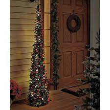 collapsible christmas tree affordable collapsible 65 lighted christmas trees in