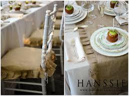 burlap chair covers wedding trends burlap hanssie in the in between a