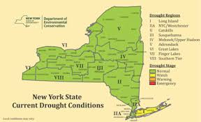 upstate ny map current drought conditions nys dept of environmental conservation