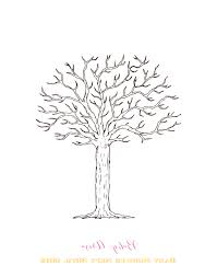 baby shower tree thumbprint tree template 28 images original baby shower tree