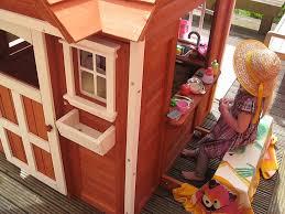 the cedar cottage playhouse backyard discovery youtube