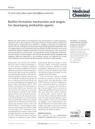 dur du si e d al ia biofilm formation mechanisms and targets pdf available