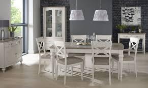 chateau washed oak and soft grey dining set fishpools