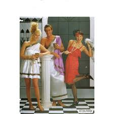 butterick halloween costumes flapper dress or toga butterick 4199 costume sewing pattern