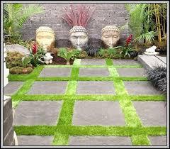 rubber patio tiles over grass patios home decorating ideas