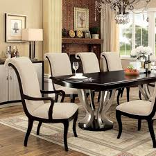 ornette transitional dining table