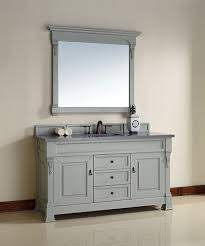 Bathroom Vanity 60 Inch by James Martin Brookfield Single 60 Inch Transitional Bathroom