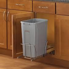 poubelle pour meuble de cuisine poubelle coulissante rona