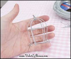 How To Make Jewelry Out Of Wire - how to make a decorative wire bird cage violet lebeaux cute
