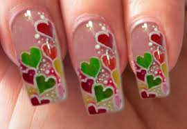 valentine u0027s day special 3 10 acrylic candy hearts nail art step by