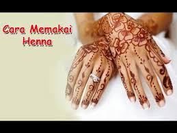 membuat alis dengan henna cara memakai henna dengan stiker cetakan tangan youtube