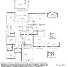 Floor Plan Doors 8093 Floor Plan At Riverstone Avalon 8000 Series In Sugar Land
