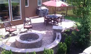 Ideas For Concrete Patio Magnificent Ideas Stamped Concrete Cost Agreeable Stamped Concrete