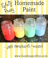 Craft Project Ideas For Kids - easy homemade paint recipe great arts and crafts project for
