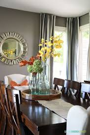 decorate dining room table fall home tour welcome home virginia and room