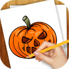 learn draw halloween android apps google play