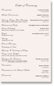 wedding reception programs arden s wedding program sle wording