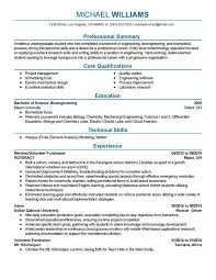 Professional Resume Electrical Engineering Resume For Mechanical Engineering Ojt For Marketing Professional