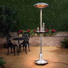 Free Standing Patio Heater Patio U0026 Outdoor Electric Patio Heater For Comfy Patio Idea