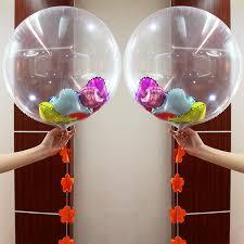 balloon wholesale wholesale transparent air balloons fashion diy in
