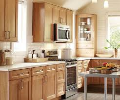 Maple Kitchen Cabinet Kitchen Impressive Furniture Fancy Ideas Of Maple Wood Cabinets