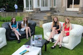 Inflatable Chesterfield Sofa by Inflatable Sofas Simon P Parties U0026 Events