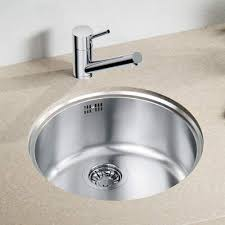 round sink bowl blanco rondo u sol round bowl undermount kitchen sink sinks