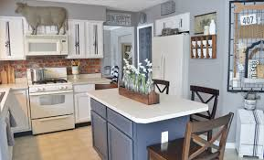 Gray Cabinets In Kitchen Painted Kitchen Cabinets Adding Farmhouse Character U2014 The Other