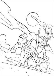cool ninja turtles coloring printable free coloring pages