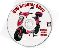 50cc chinese scooter gy6 4 stroke service repair manual on cd