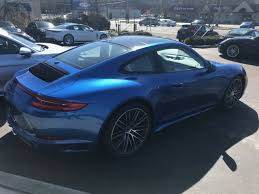 porsche graphite blue interior new 2018 porsche 911 carrera 4s