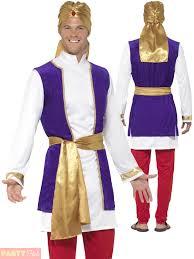 adults arabian prince costume mens bollywood aladdin fancy dress