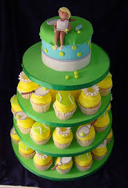 tennis cake toppers cakechannel world of cakes tennis wedding cake and cupcakes