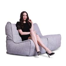 twin bean bag lounger ambient lounge twin couch tundra spring