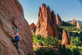 Rock Climbing Garden Of The Gods 14 Best Ways To Crush Calories In Colorado Outthere Colorado