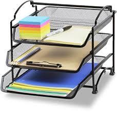 Stackable Desk Organizer Simplehouseware 3 Tier Stackable Desktop Document
