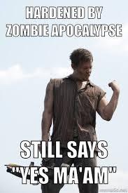 Walking Dead Meme Daryl - success daryl southern gentleman walking dead daryl dixon and norman