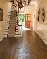 floor in beautiful plank floor in a fantastic federal style house indoor