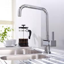 stylish modern kitchen sink basin mixer taps monobloc pull out
