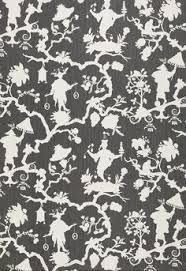 circle ornament wallpaper american janes u0026 bolles collection
