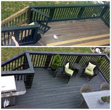focal point styling before u0026 after two story black slate stain
