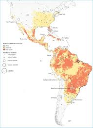 The Americas Map Zika Virus Map Where Is It U0026 Where Could It Spread