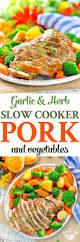 garlic u0026 herb slow cooker pork and vegetables the seasoned mom