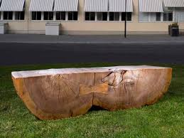 tree trunk bench throughout qrs quality repairs services designs