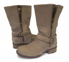 womens ugg motorcycle boots ugg australia zip suede motorcycle boots for ebay