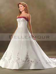 robe de mari e bicolore de mariée blanche bicolore satin a ligne bustier elégante