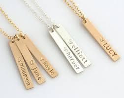 kids name necklaces monogram name necklaces etsy il
